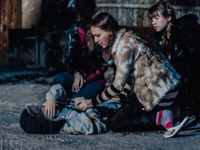 Ми планували проїхати по містах України з показом театрального дійства «Театр проти насильства», а замість цього відзняли кіно!